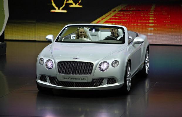 IAA 2011: Bentley entwickelt den Continental GTC weiter