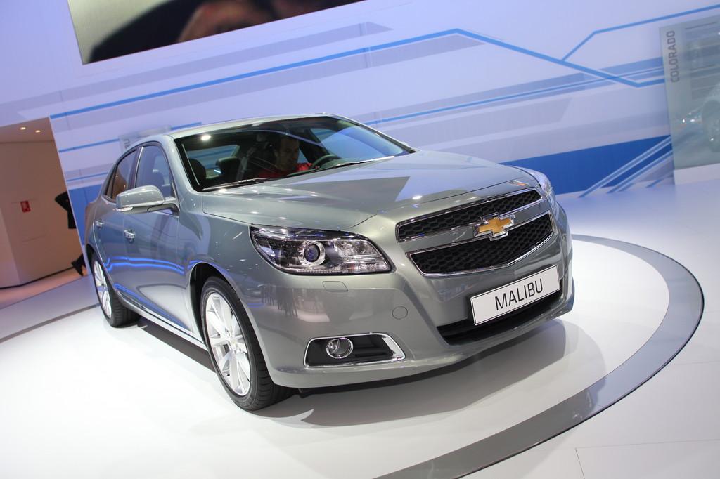 IAA 2011: Chevrolet Malibu gibt sein Europa-Debüt