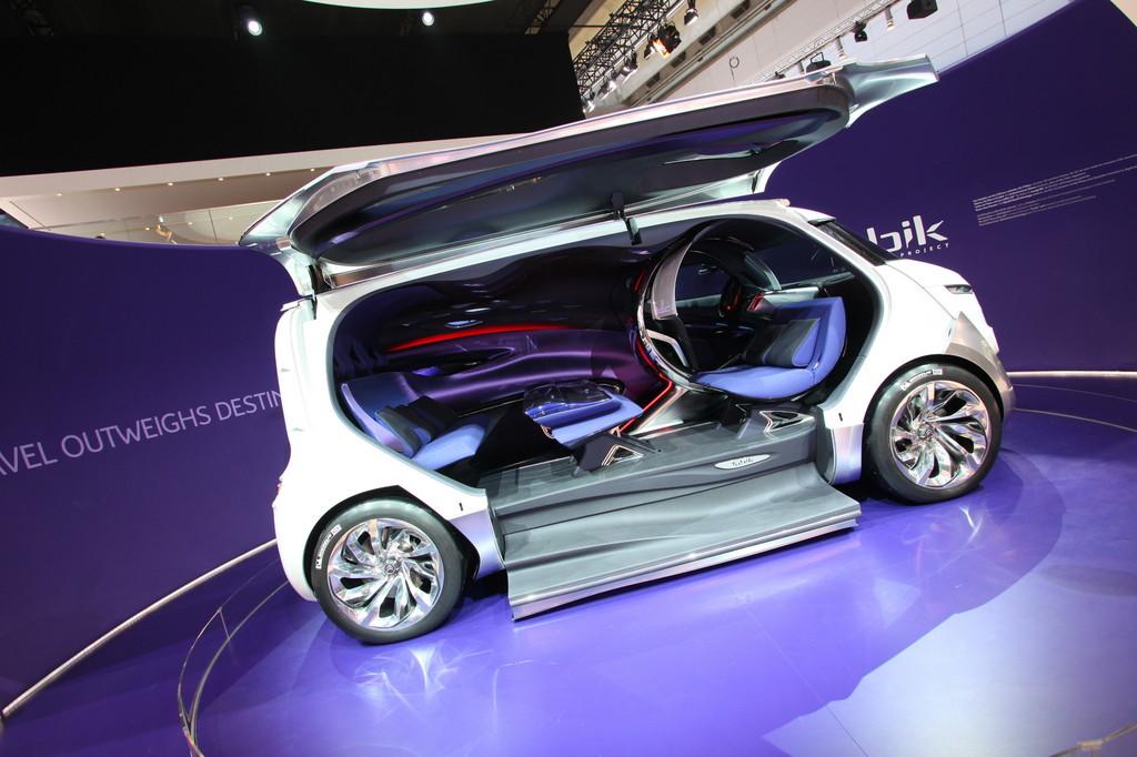 IAA 2011: Citroën Tubik – der Weg ist das Ziel