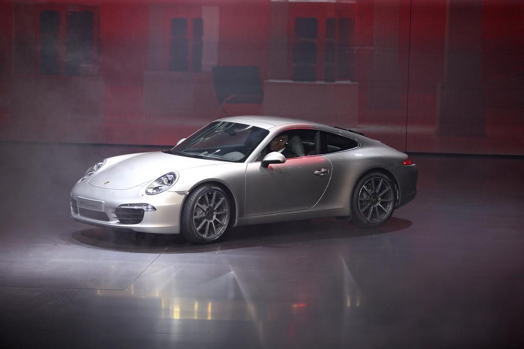 IAA 2011: Der Porsche 911 bleibt ein 911