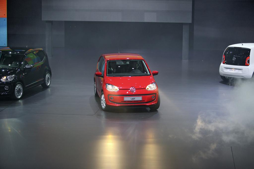 IAA 2011: Der Volkswagen Up startet bei 9850 Euro