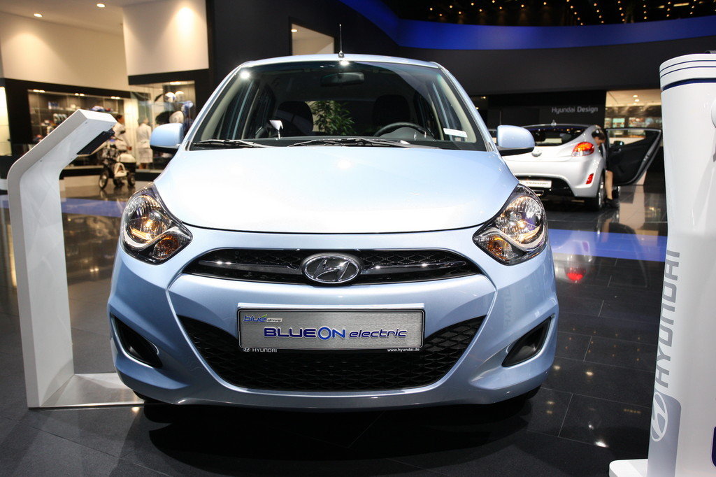 IAA 2011: Hyundai i10 Blue On geht 2013 in Serie
