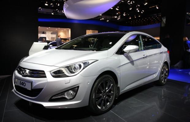 IAA 2011: Hyundai i40 – auf den Kombi folgt die Limousine