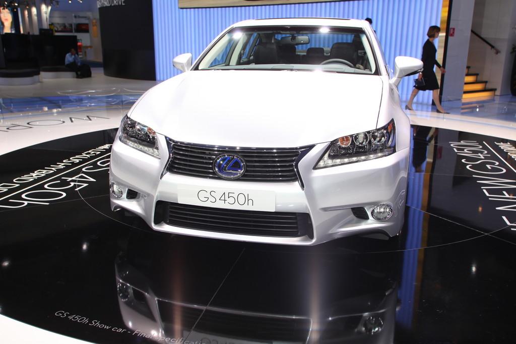 IAA 2011: Lexus stellt die neue GS-Generation vor