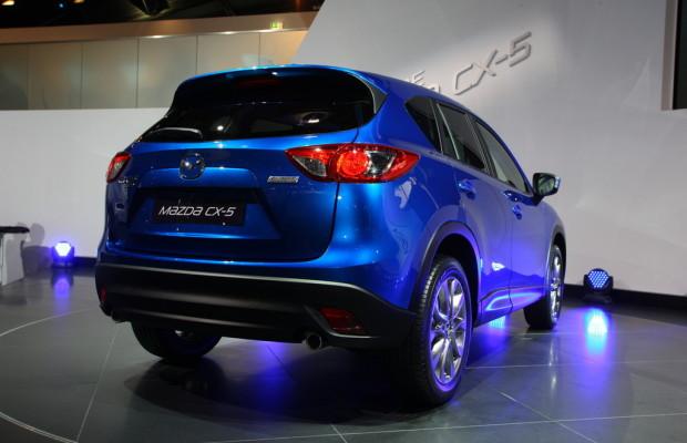 IAA 2011: Mazda CX-5 feiert Weltpremiere