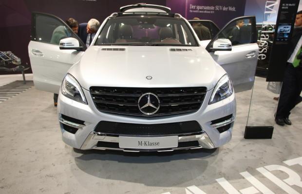 IAA 2011: Mercedes-Benz M-Klasse verbraucht ein Viertel weniger