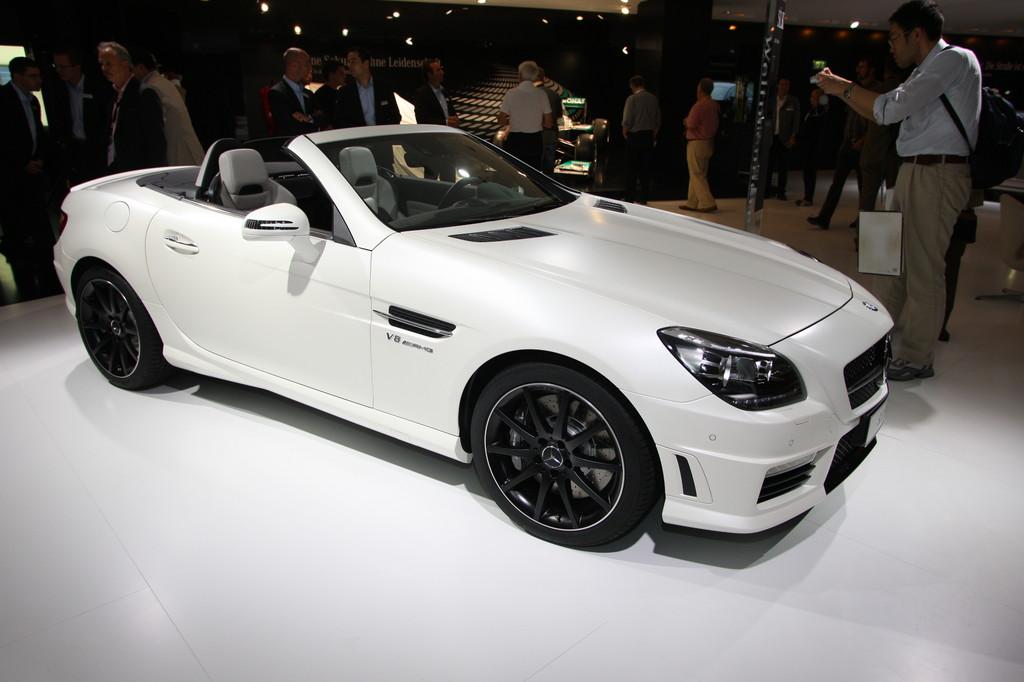 IAA 2011: Mercedes-Benz SLK 55 AMG kommt im Januar