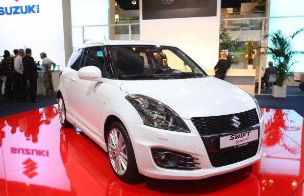 IAA 2011: Neuer Suzuki Swift Sport hat 11 PS mehr