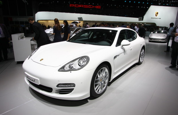 IAA 2011: Porsche Panamera Diesel verbraucht 6,3 Liter
