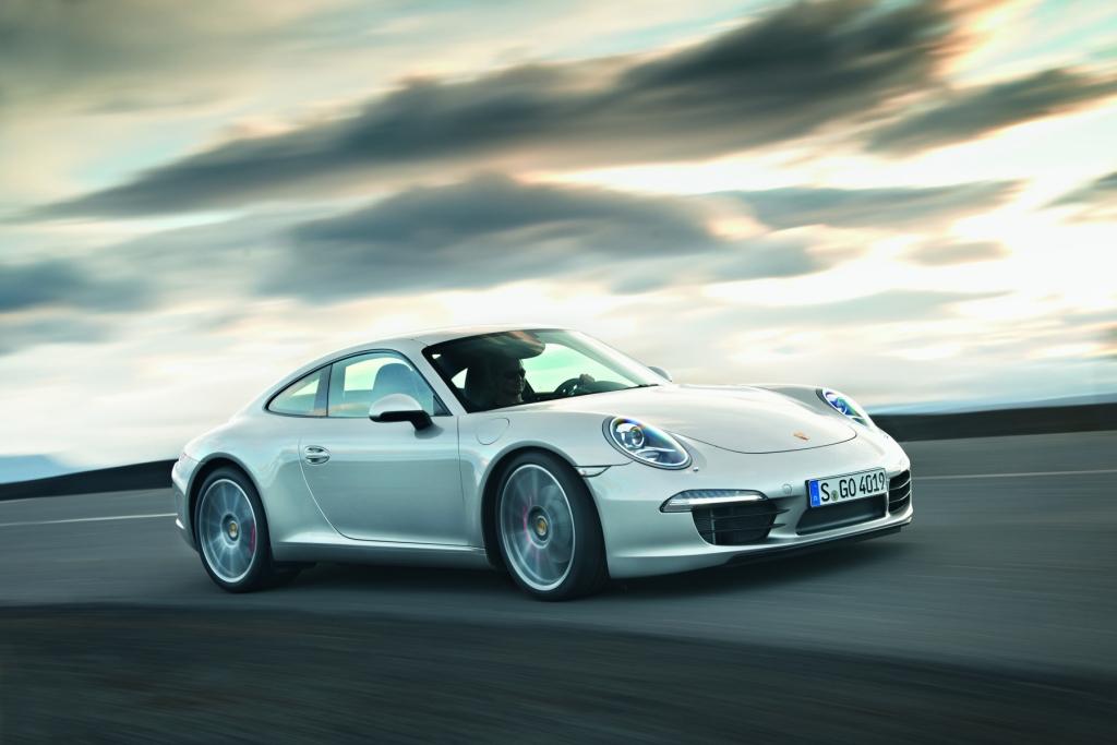 IAA 2011: Publikumsmagnet Porsche 911 Carrera