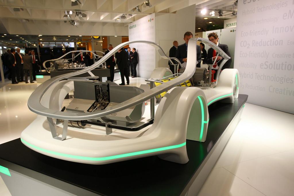 IAA 2011: Schaeffler präsentiert