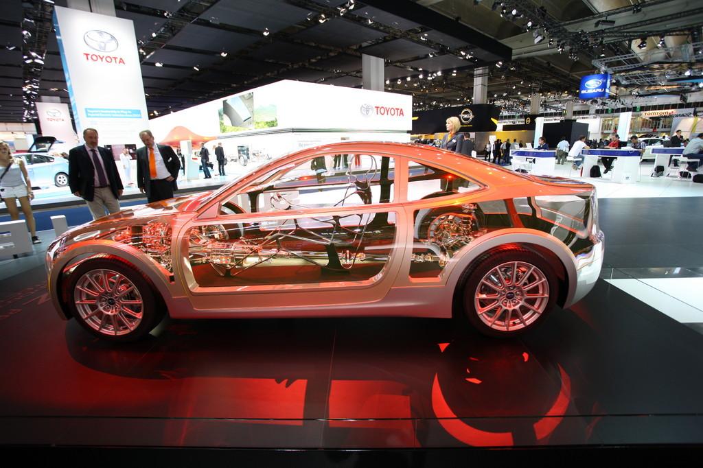 IAA 2011: Subaru BRZ – Prolog für einen neuen Sportwagen