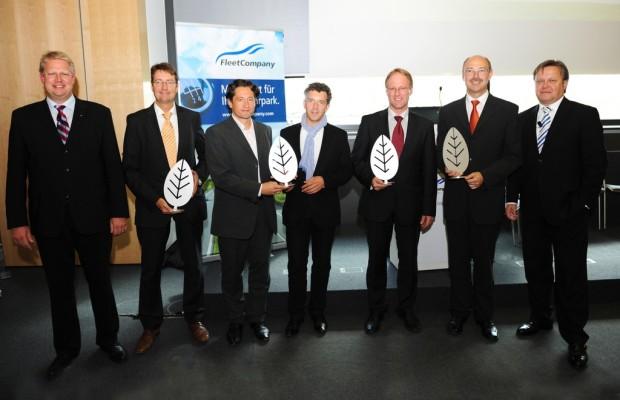 IAA 2011: TÜV Süd zeichnet grüne Flotten aus