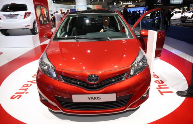 IAA 2011: Toyota Yaris kurz vor dem Markstart