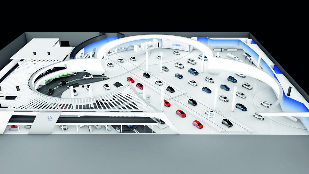 IAA 2011: Up steht im Mittelpunkt des VW-Auftritts