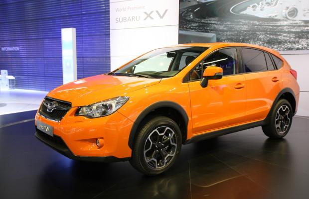 IAA 2011: Weltpremiere für den Subaru XV