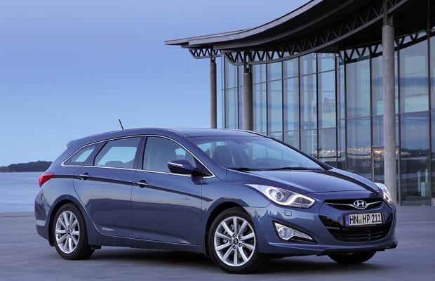 In heiß umkämpfter Mittelklasse: Hyundai- i40-Kombi ab September, danach Limousine