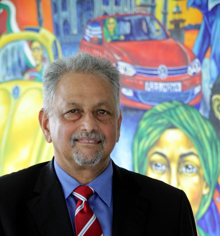 John Chacko, Chef von Volkswagen in Indien.