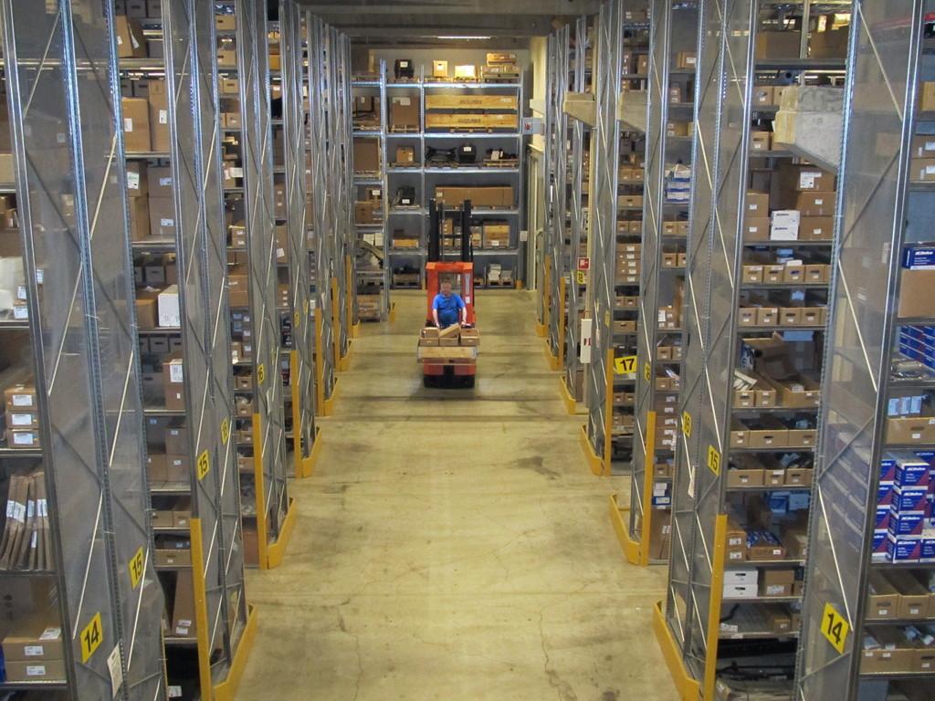 Klintberg & Way hat seinen Hauptsitz in Stockholm. Ersatzteillager von KW Parts.