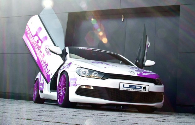 LSD verleiht dem VW Scirocco Flügel