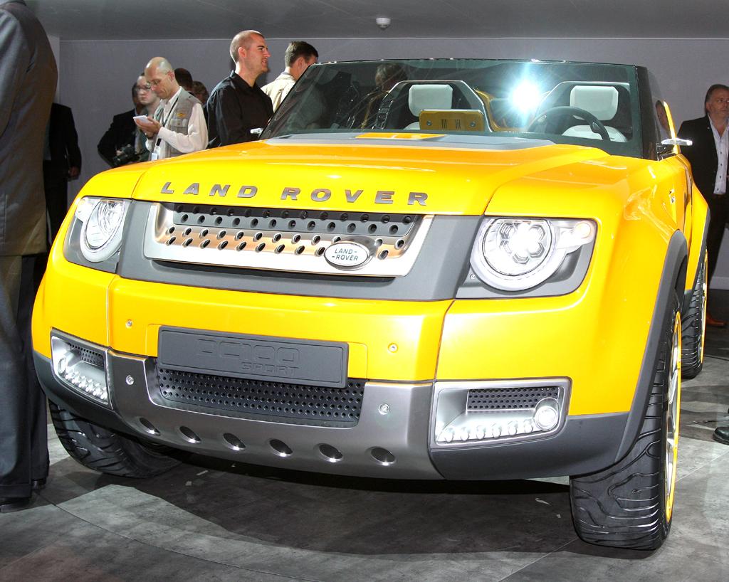 Land-Rover-Studie jetzt bei der IAA.