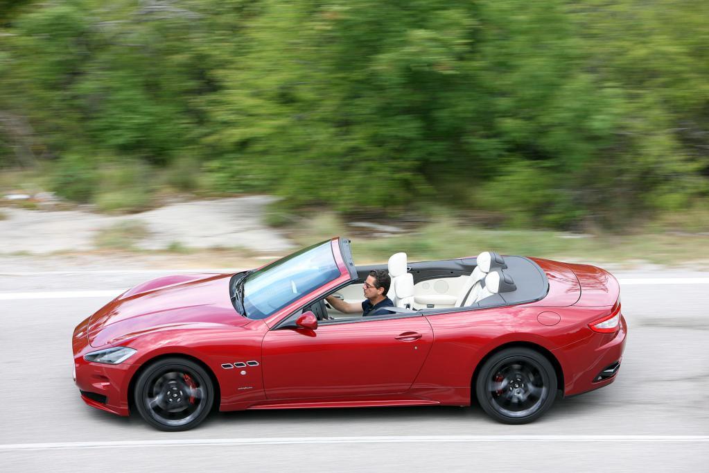 Maserati gibt den Startschuss für GranCabrio Sport