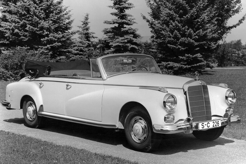 Mercedes Benz 300 Cabriolet D, 1958