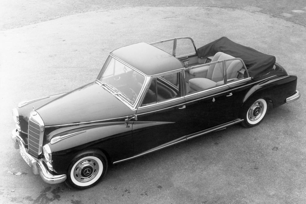Mercedes Benz 300 Pullmann Landaulet Papstauto, 1960