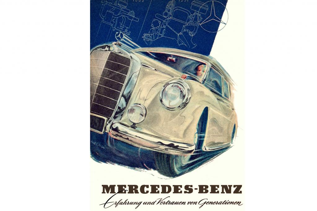 Mercedes Benz 300 Webung, 1951
