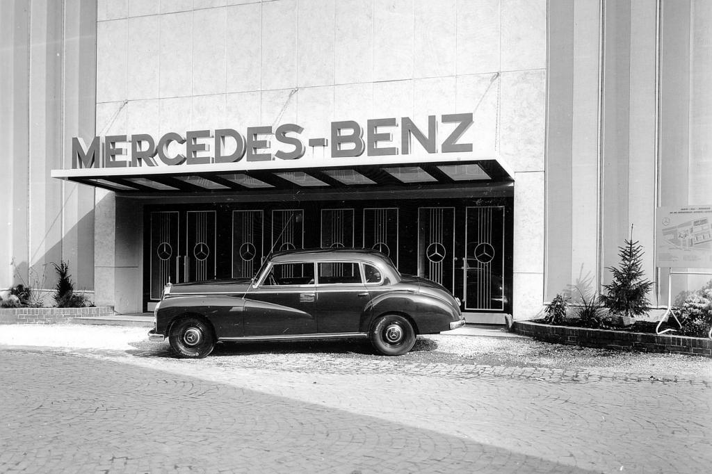 Mercedes Benz 300 Weltpremiere IAA 1951