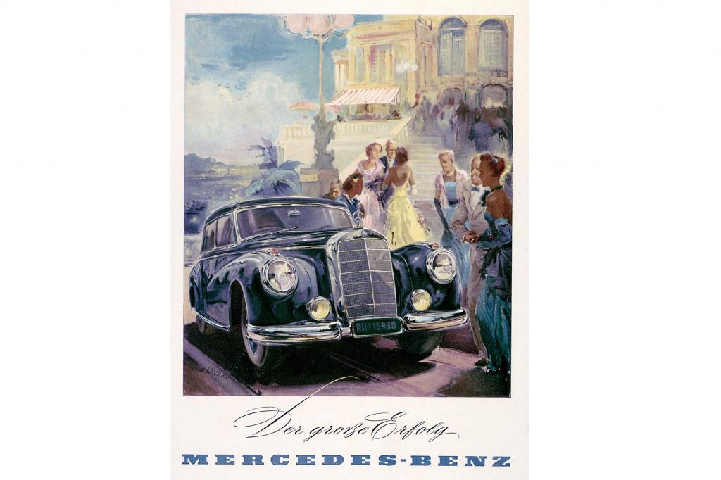 Mercedes Benz 300 Werbung, ab 1951