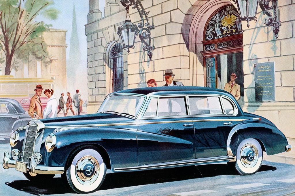 Mercedes Benz 300b, ab 1954