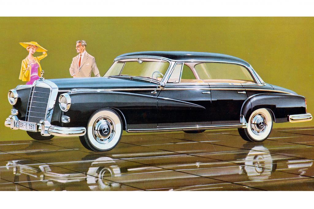 Mercedes Benz 300d, 1957