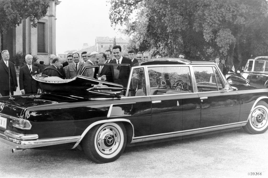 Mercedes Benz 600 und Pullmann Landaulet Papstauto 1965 und 1960
