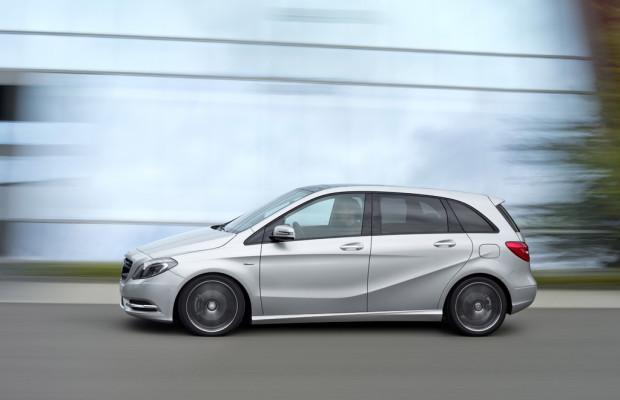 Mercedes-Benz B-Klasse startet zum alten Preis