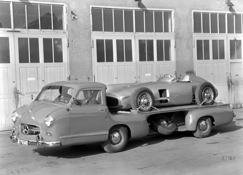 Mercedes-Benz Schnelltransporter (1955).