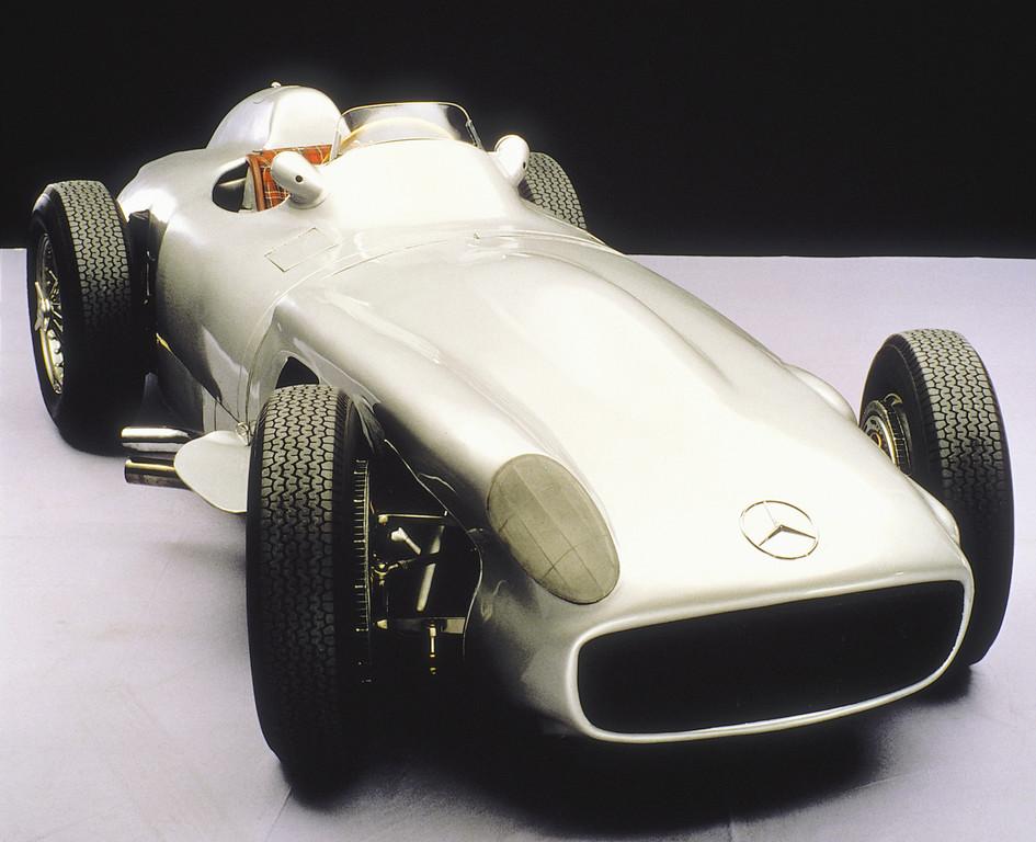 Mercedes-Benz W 196 R (1955).