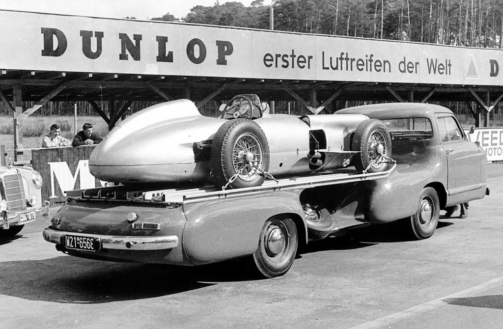 Mercedes-Benz W 196 R. Schnelltransporter (1955).