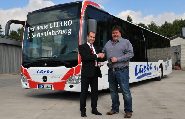 Mercedes-Benz übergibt ersten Citaro der neuen Generation