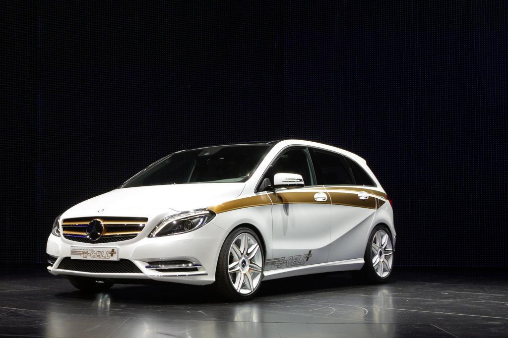 Mercedes Concept B-Class E-Cell Plus - E-Auto für die große Tour