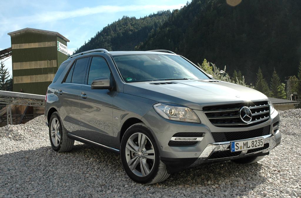 Mercedes M-Klasse: Geländetauglich mit Limousinen-Kultur und -Luxus.