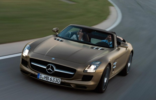 Mercedes SLS AMG Roadster: Fliegen ohne Flügel