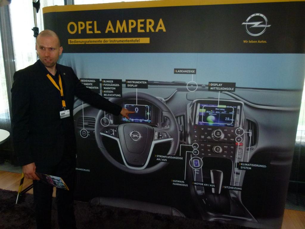 Michael Blumenstein, Produkt- und Vertriebskommunikation Opel