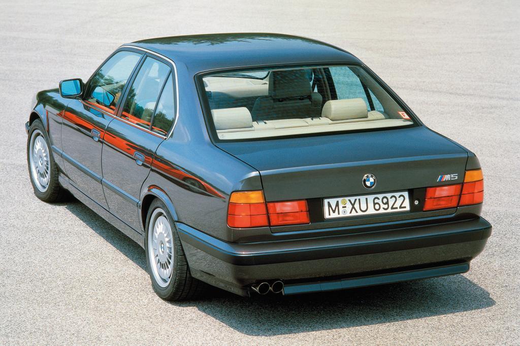 Mit 315 PS kam der M5 in der zweiten Generation auf den Markt