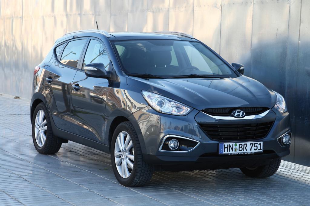 Mit dem ix35 betritt Hyundai elegant das SUV-Segement