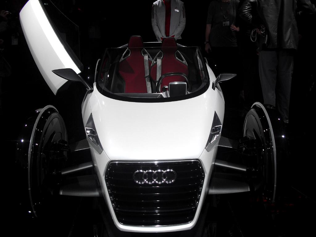 Mobilität könnte in Städten so aussehen, hier Audis urban concept, ...