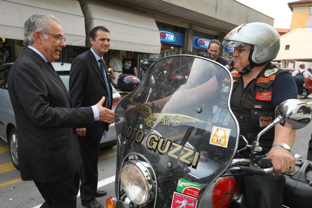 Moto Guzzi feierte 90. Geburtstag mit seinen Fans in Mandello del Lario