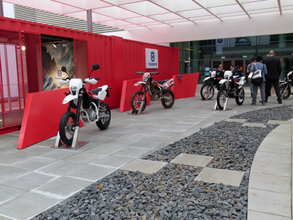 Motorräder auf der IAA - Zwei statt vier