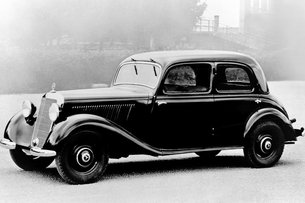 Nach dem Zweiten Weltkrieg wurde der Mercedes 170D angeboten