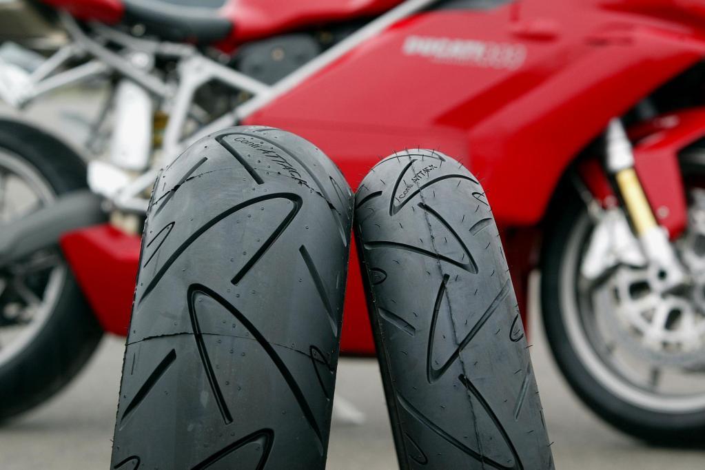 Neuer Conti-Reifen für schwere Touren-Motorräder